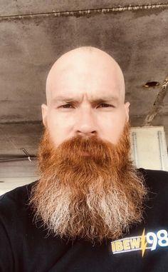 Beard Images, Bald With Beard, Beard Styles, Bearded Men, Men Beard, Bald Head With Beard, Beard Man