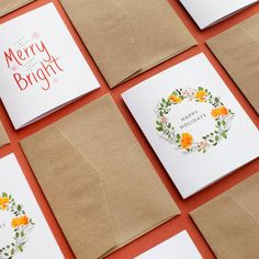 Christmas Cards, Personalised Christmas Cards By Paperlust Christmas Stationery, Personalised Christmas Cards, Christmas Party Invitations, Birthday Invitations, Botanical Wedding Invitations, Wedding Invitation Inspiration, Christmas Place Cards, Christmas Gift Tags, Engagement Invitations