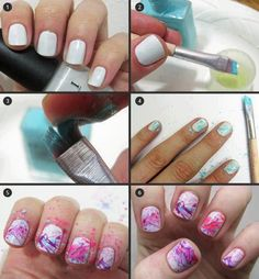 Nails Arts For Ladies...