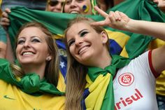 Brasil Soccer Fans, Soccer World, Football Fans, Fifa, Hot Fan, World Cup 2014, Couple Photos, Beautiful, Brazil