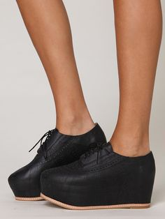 Miller Cutout Platform by Jeffrey Campbell.