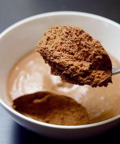 Chocolademousse zonder slagroom