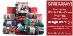 I'ld love to win this prize pack from design wars