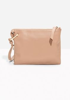 & Other Stories image 1 of D-Ring Crossbody Bag in Pink