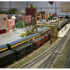 Detroit Model Railroad Club Open House Holly, MI #Kids #Events