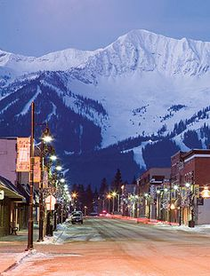 Fernie BC.  Sourrounded by beauty.