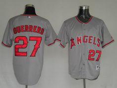 reputable site 5f79d c0cb6 Men s Los Angeles Angels 27 Vladimir Guerrero Gray