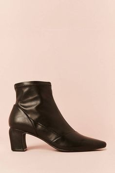 FOREVER 21 Faux Leather Ankle Boots