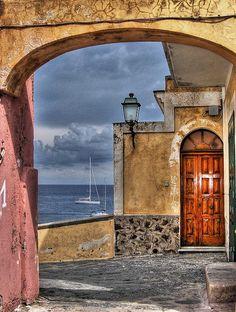 Ventotene, Lazio, Italy.