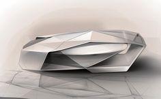 IED Shiwa Concept - Design Sketch Render