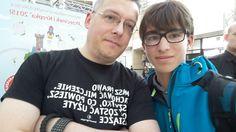 """Rafał Kosik - autor serii książek """"Felix, Net i Nika"""", spotkanie autorskie w Arkadii organizowane z okazji Dni Książki dla Dzieci"""