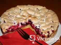 Ríbezľový koláč so snehom Czech Recipes, Russian Recipes, Cheesecake, Food And Drink, Pie, Baking, Sweet, Decor, Fotografia