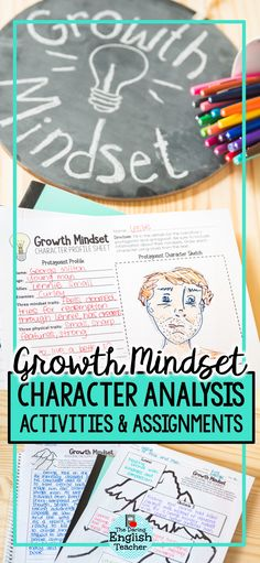 Combine character analysis and growth mindset in your novel study with this growth mindset character analysis packet. This character analysis mini unit works with any unit of fiction and is the ideal approach to analyze literature because it has students look, analyze, and explain character development in terms of a growth mindset. #middleschool #middleschoolnovelstudy #growthmindsetELA #ELAgrowthmindset #characteranalysisactivities #characteranalysis #middleschoolcharacteranalysis