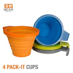 #BearGrylls #PackItCups #4Pack #SaveOver56%