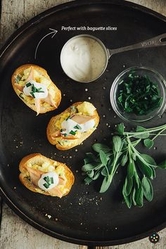 Brunch in 15 Minutes: Creamy Sage Scrambled Eggs with Smoked Salmon and Chive Truffle Cream Sauce