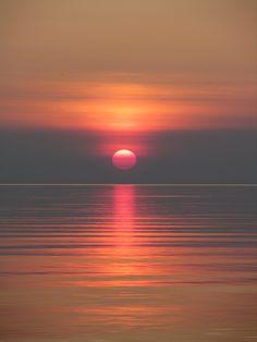 Sunset in Sauble Beach - Ontario Canada