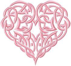 Woven Heart Design - Machine Embroidery Design