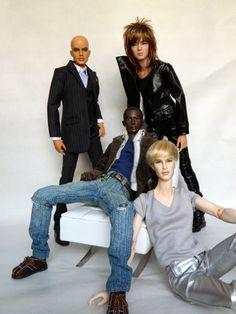 Male Fashion Dolls.