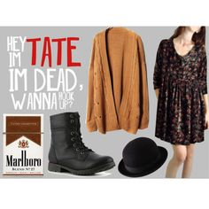 """Violet Harmon inspired outfit."" by ceciliebaasch on Polyvore"