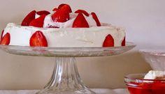 Tritxo Recetas: Tarta de nata & fresas