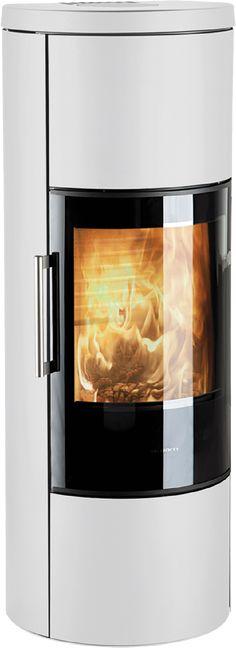 HWAM 3660m hvitpeisovn har et minimalistiskytre og skjuleravansert teknikk, vedrom, varmemagasin og skaper en flott ramme rundt den knitrende ilden. Kitchen Appliances, Phone, Diy Kitchen Appliances, Home Appliances, Telephone, Kitchen Gadgets, Mobile Phones