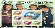Share this & join our giveaway to get a FREE One Direction Bracelet!