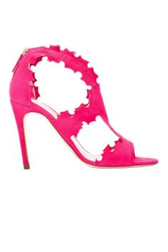 Kick off spring the right way in bold Rupert Sanderson cut-out sandals