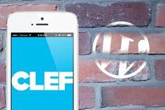 Clef é um aplicativo móvel que substitui o nome de usuário e senha com o seu smartphone. Clef que significa
