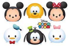 . Disney Cards, Disney Diy, Baby Disney, Tsum Tsum Party, Disney Tsum Tsum, Colorful Birthday, Birthday Fun, Chibi Kawaii, Tsumtsum