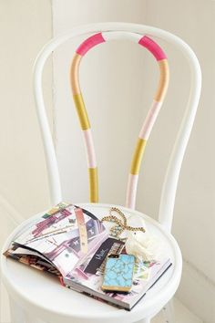 String Chair | 25 Gorgeous DIYs For Your Teenage Girl's Room