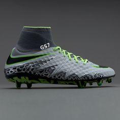 b2a2ec7774 Nike Hypervenom Phantom II FG - Pure Platinum Black Ghost Green