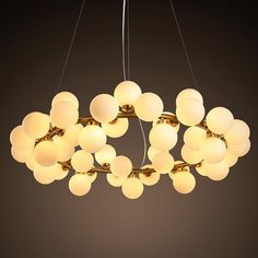 759.99$  Watch here - http://ali1cx.worldwells.pw/go.php?t=32677379015 - 2016 NEW Round Bubble LED Chandelier Lamp / Light / Lighting Fixture Modern Lustre Chandelier Lighting 25 lamp 45 lamp free EMS