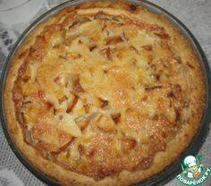 Яблочный пирог-суфле ингредиенты