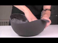 Vídeo receta: Fácil receta de pan con el Asador Lékué. Por @Lékué