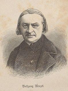 Wolfgang Wenzel (1798-1873) was een Duitse dichter die veel kritiek had op het werk van Goethe en hij was niet de enige; te lezen in Karl Robert Mandelkow: Goethe in Deutschland