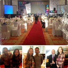 Nice Gala Dinner MSMW 2013 Bersama Bloggers