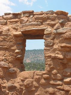 "Window ""ruins"" Jemez, New Mexico"
