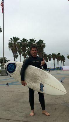 Having fun in Venice Beach