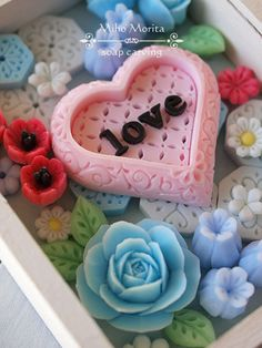 soap carving. -love-