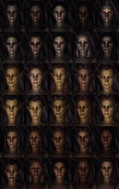 19 Best Skyrim character creation ideas images in 2018 | Fantasy