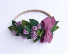 Easter lily bouquet headband от TheFloweredFawn на Etsy
