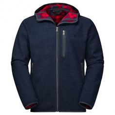 Jack Wolfskin Edmonton fleece vest heren night blue