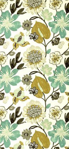 insidefabric.com. Floral pattern. Estampado floral.