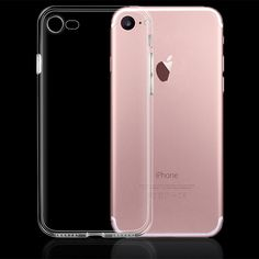 Ultra Thin Soft TPU Transparent Silicone Phone Case for iPhone 7 6 6s Plus 5 5S SE 5C 4 4S Crystal Clear Rubber Slim Back Cover