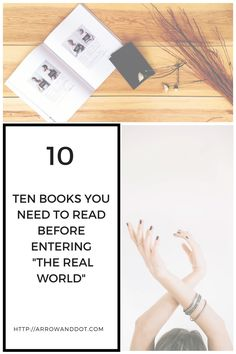 10 books to read before entering the real world Arrow & Dot