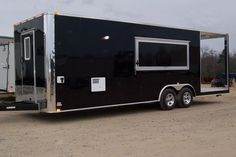 2014 8 1/2 X 20 'BASIC CONCESSION, CATERING BBQ VENDING PORCH TRAILER