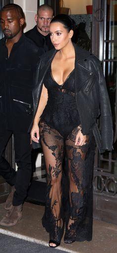 Kim K. In Givenchy