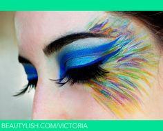 Rainbowed Feathers Flock Together.   Victoria S.'s (victoria) Photo   Beautylish