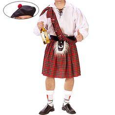 Costume de Barkeeper Os homens escoceses – BRL R$ 133,02