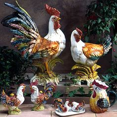Love this Rooster & Hen